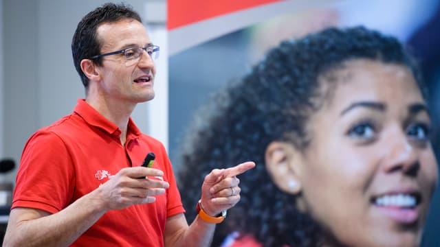 Swiss-Athletics-Präsident Christoph Seiler.