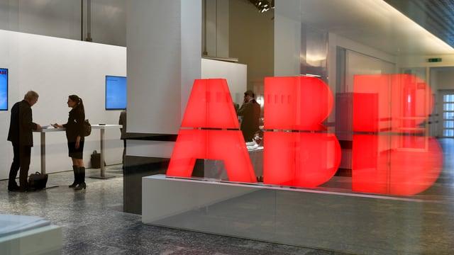 Purtret dal logo dad ABB.