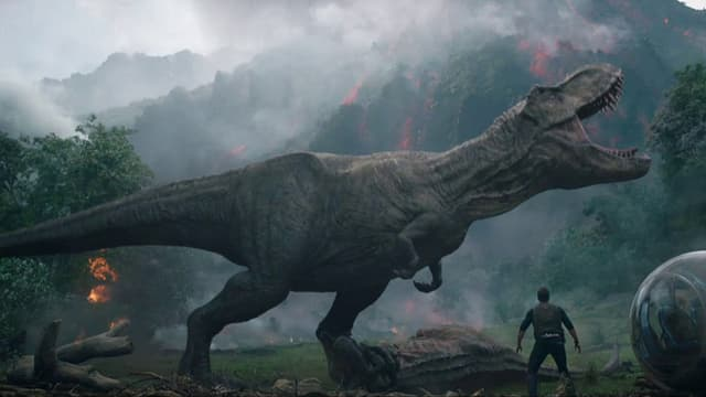 Video «Kinostart: «Jurassic World – Fallen Kingdom»» abspielen