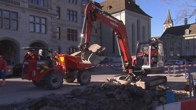 Video «Mittelalter-Funde Zürich, Operation Kunsttransport, Vision Wisent» abspielen