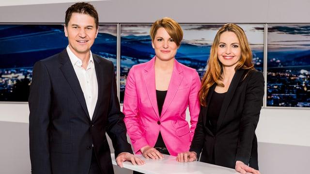 Purtret dad Otmar Seiler, Chatrina Josty ed Isabella Wieland