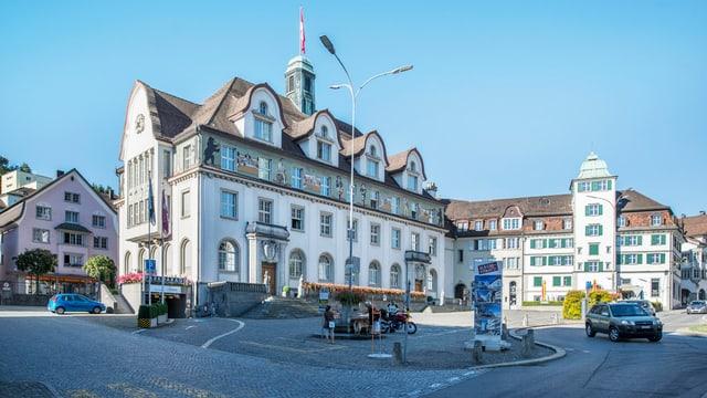 Ausserrhoder Regierungsgebäude in Herisau