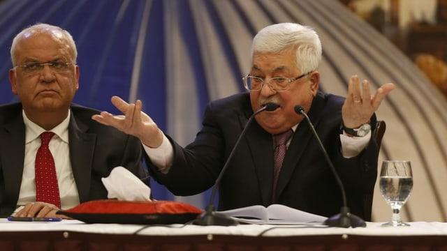 Abbas und ein weiterer Mann.