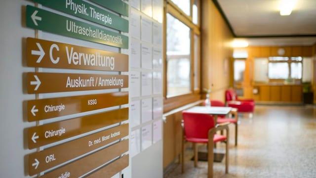 Ein Blick ins Spital Appenzell