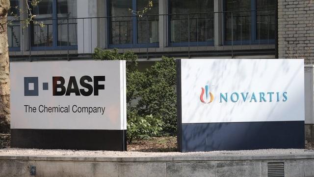 In Basel gibt es viele international ausgerichtete Unternehmen wie BASF oder Novartis.