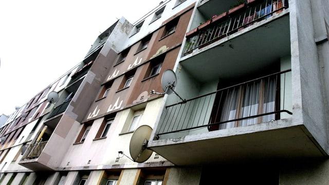 Wohnungen von aussen