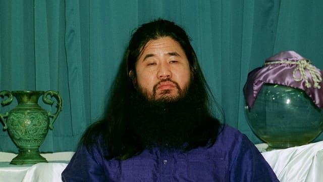 Shoko Asahara – der Sektenführer.