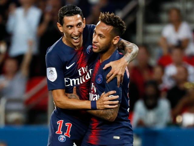 Di Maria und Neymar