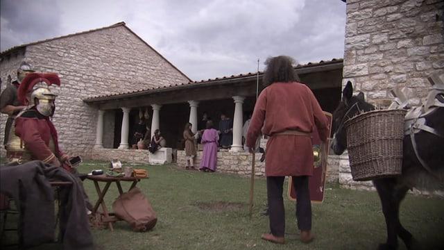Video «Das Römer-Experiment - Wie bauen die Römer (5/8) Latein» abspielen