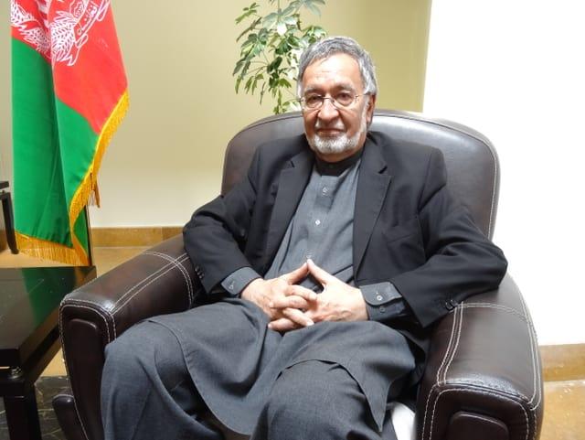 Präsidentschaftskandidat Zalmai Rassoul