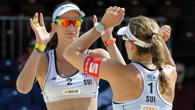 Nadine Zumkehr und Joana Heidrich schafften zuletzt zwei Top-10-Klassierungen.