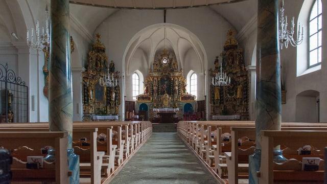 Baselgia parochiala da Sumvitg.