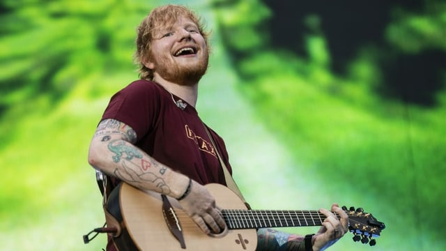 Ed Sheeran im Zürcher Letzigrund (August 2018)