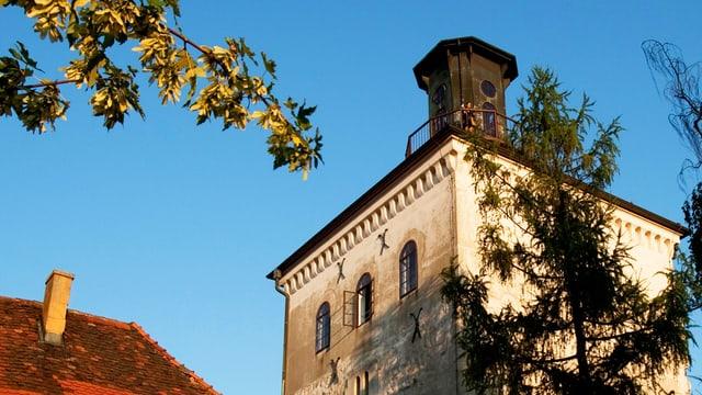 Der Lotrsak-Turm in Zagreb.