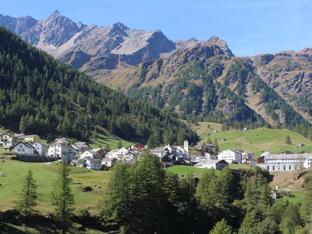 Ortsansicht von Simplon Dorf