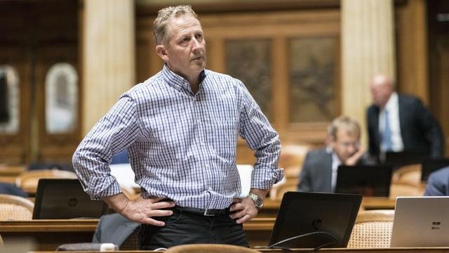 SVP-Nationalrat Markus Hausammann