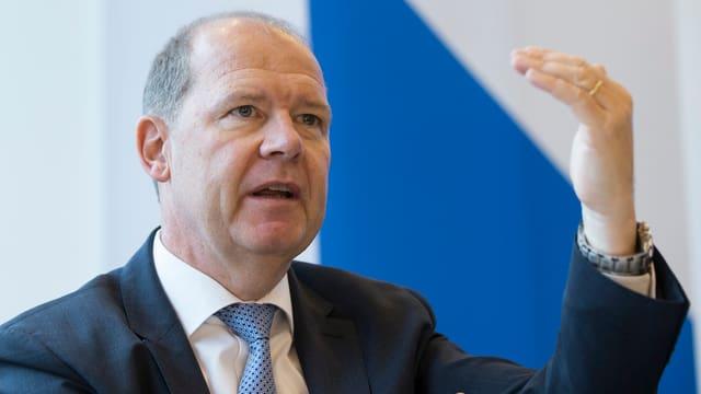 Präsident des Arbeitgeberverbandes Valentin Vogt