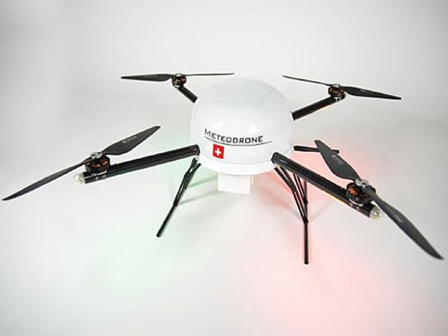 Drohne von Meteomatics