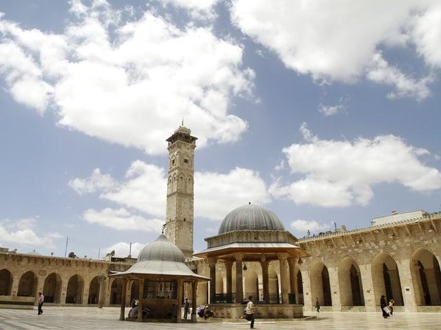 Die grosse Moschee in Aleppo