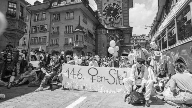 Der Frauenstreik vom 14.Juni 1991