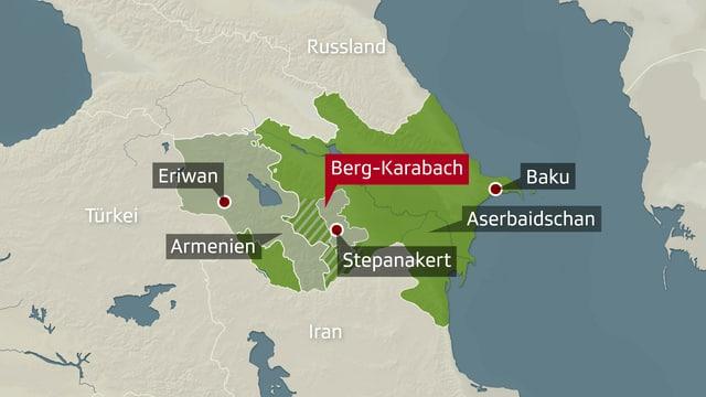 Konflikt Um Berg Karabach Der Lange Schatten Sowjetischer Grenzen News Srf