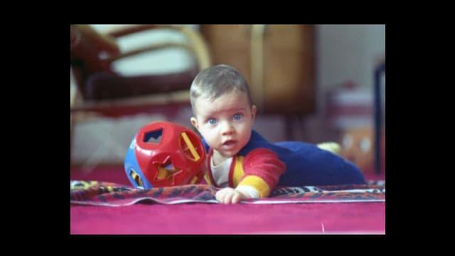 Adrian Küpfer als Baby.