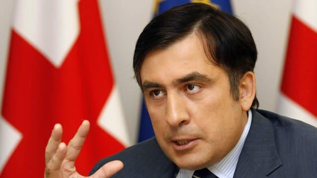Georgiens Ex-Präsident Michail  Saakaschwili.