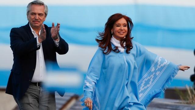 Fernandez mit Kirchner