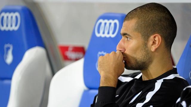 Eren Derdiyok kam in der Hinrunde für Hoffenheim nur zu wenigen Einsätzen.