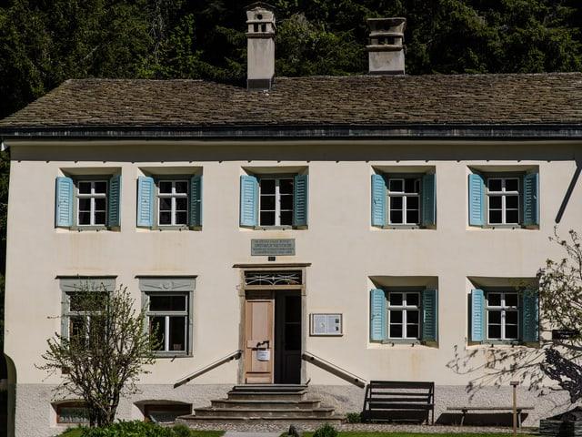 Das Haus in dem einst Nietzsche wohnte.