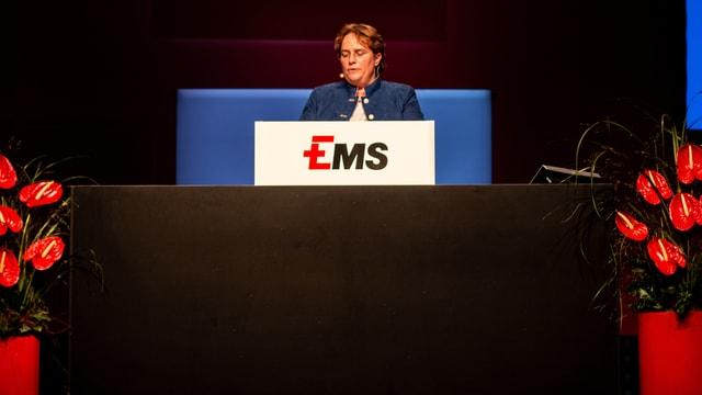 Magdalena Martullo-Blocher ha ludà il svilup da l'EMS Chemie.