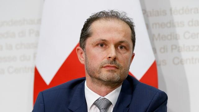 Il nov directur dal Uffizi federal d'energia Benoît Revaz