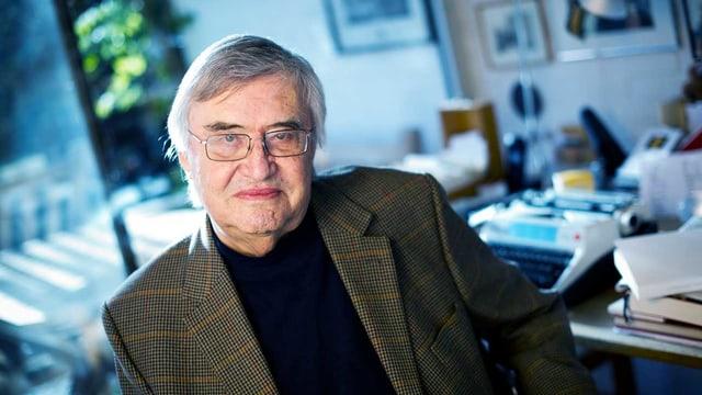 Schriftsteller Peter Härtling.