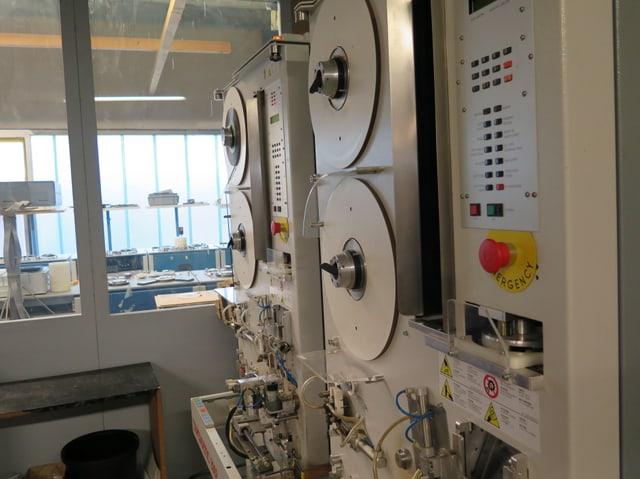 Kassettenmaschine mit Magnetbandspule