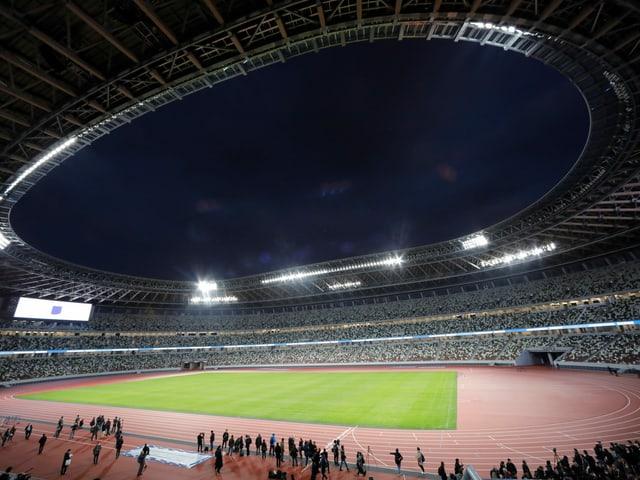 Stadion in Tokio.