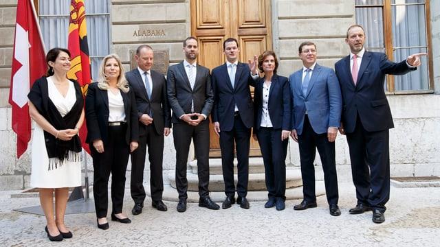 Erst im April und Mai war die Genfer Regierung neu gewählt worden. Nur Pierre Maudet schaffte die Wahl bereits im ersten Wahlgang.