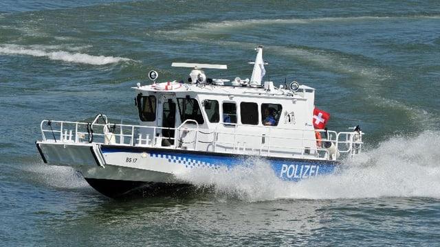 Basler Polizeiboot