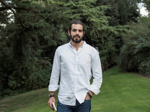 Ein Porträt von Mohammad Al-Attar.