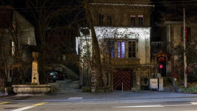 Nachtclub Dead End von Aussen