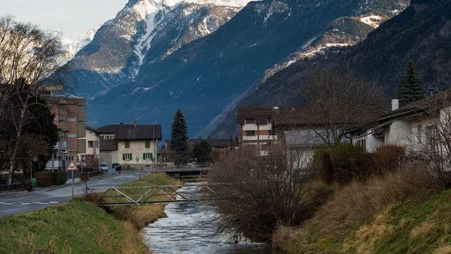 Der Grossgrundkanal bei Visp