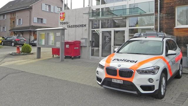 Polizeiposten Tobel.