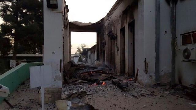Ruinen des Spitals