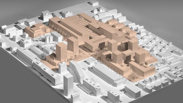 Ein Architektur-Modell.