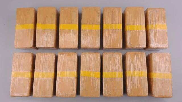 15 Kilogramm Heroin im «Gassenwert» von über einer Million Franken.