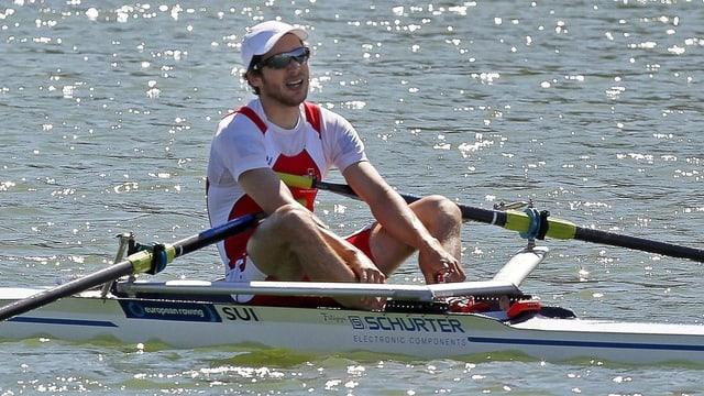 Michael Schmid steht bei der WM in der offenen Kategorie im Halbfinal.