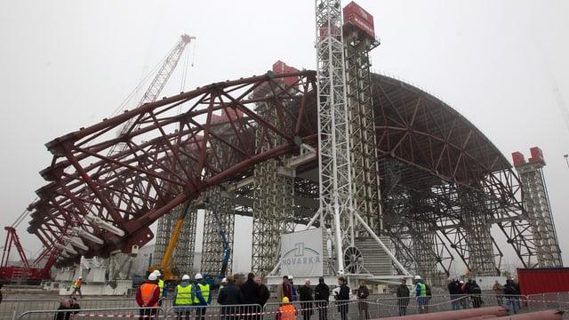Video «Tschernobyl: Das grösste Dach der Welt (1/4)» abspielen
