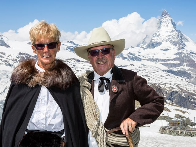 Art Furrer und seine Frau.