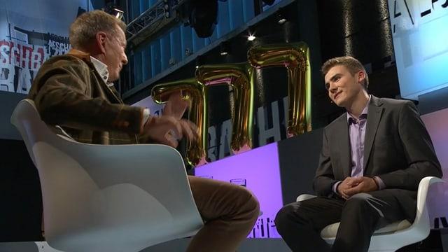 Kevin Huguenin war Gast in der Sendung von Kurt Aeschbacher.