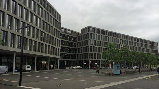 Der neue Campus der Fachhochschule Nordwestschweiz in Brugg-Windisch.