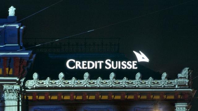 Purtret dal logo da la Credit Suisse.
